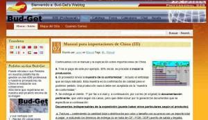 Nuevo blog importaciones