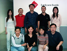 Equipo de Luckyarn Shanghai en China