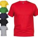 Camiseta promocional para impresión