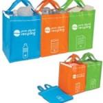 Set bolsas de reciclaje