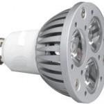 Lámpara LED GU10 alta luminosidad
