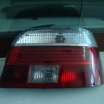 Luz trasera de coche