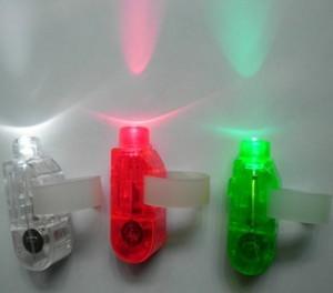 Linterna LED para el dedo