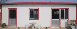 Casa prefabricada gama baja