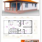 Casas prefabricadas de paneles EPS