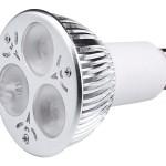 Bombilla dicroica LED 3×3 GU10 (390-520 lm)