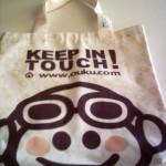 Bolsa de loneta de algodón reciclable ecológica