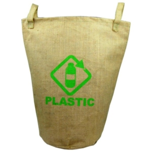 Bolsa de yute para reciclaje