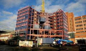 Construcción hotel realizado con contenedores