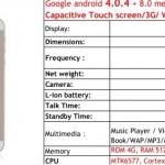 "Smartphone Dual Core 4"""