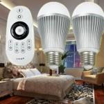 Bombillas LED regulables por WiFi