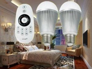 Bombillas LED regulables por WiFi
