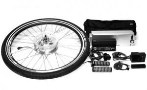 Kit para convertir tu bicicleta en eléctrica