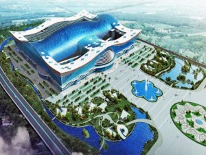 China inaugura el mayor edificio del mundo