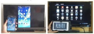 El Air Dongle te permite ver la pantalla de tu móvil en tu televisión