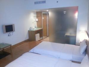 La hospitalidad china se refleja en los detalles que adornan las habitaciones de sus hoteles.