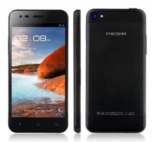 Phicomm X100w, un móvil ultrafino de gran diseño, a un precio muy atractivo, 119.99€