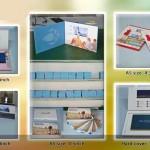Tarjetas de video para felicitación, negocios y presentaciones de producto