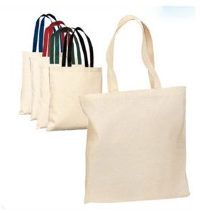 Importaciones de China de bolsas de lona de algodón o canvas